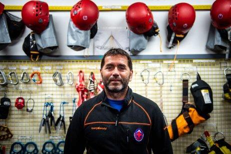 Miroslav Živčák, náčelník Horskej záchrannej služby vo Vysokých Tatrách. Foto N – Vladimír Šimíček