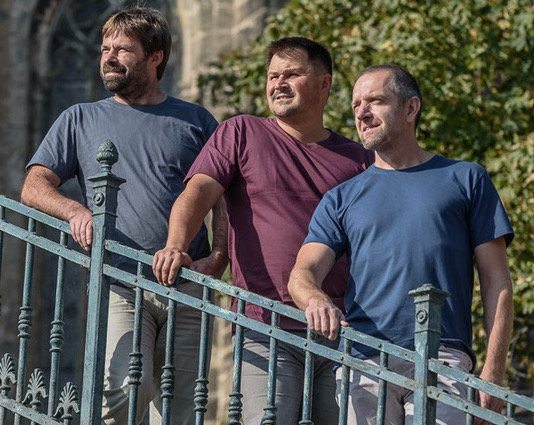 Zakladatelia firmy CityZen. Zľava: René Nemeček, Martin Burkoň a Pavel Hrstka. Foto – CityZen