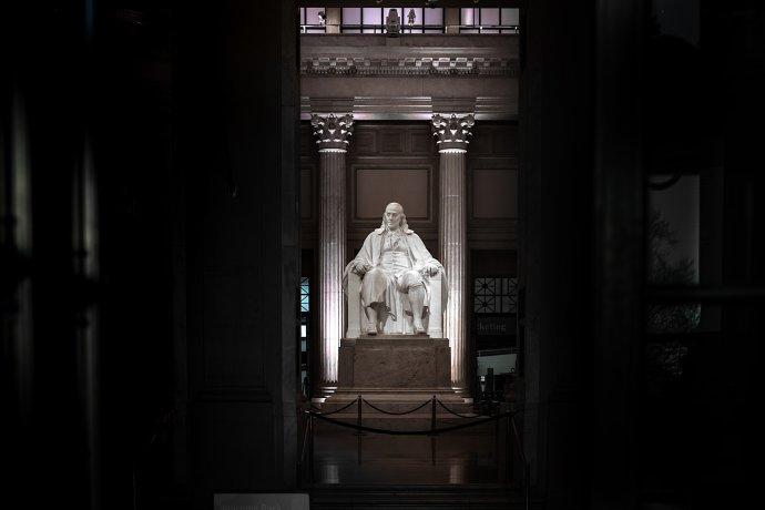 Pamätník Benjamina Franklina. Ilustračné foto – Unsplash/Dan Mall