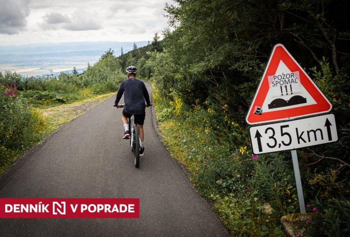 Elektrobicykle v Tatrách. Foto N - Tomáš Grečko