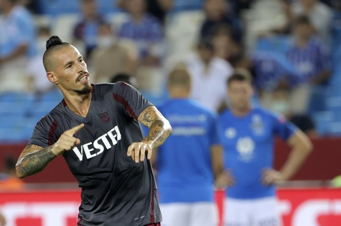 Marek Hamšík v drese Trabzonsporu. Foto - TASR/AP