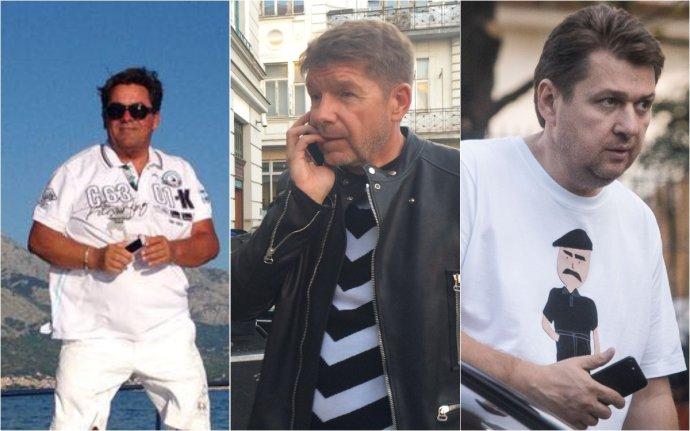 Marian Kočner, Miroslav Výboh a Ladislav Bašternák. Foto – archív N
