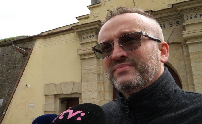 Vladimír Pčolinský po prepustení z väzby. Foto N – Martina Koník