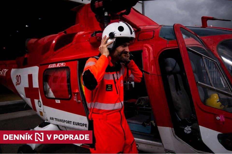 Pilot Ivo Babica. Foto N – Vladimír Šimíček