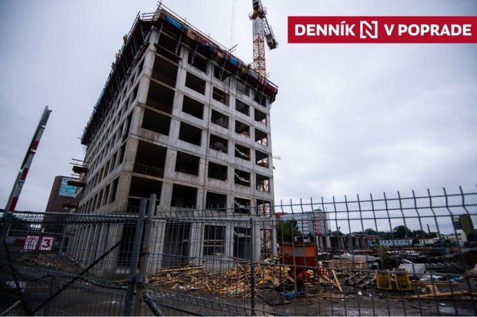 Výstavba v centre Popradu. Foto N –Vladimír Šimíček