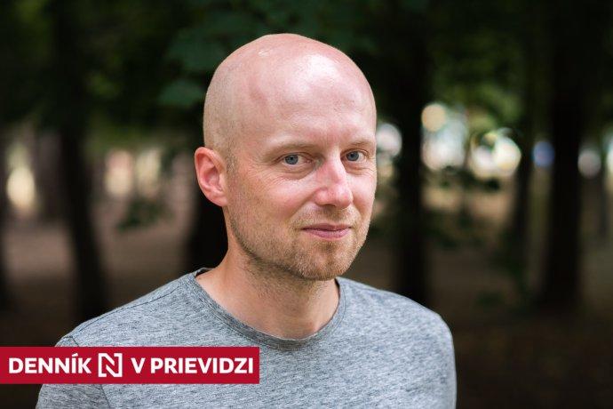 Tomáš Gríger. Foto – Ľubomír Mäkký