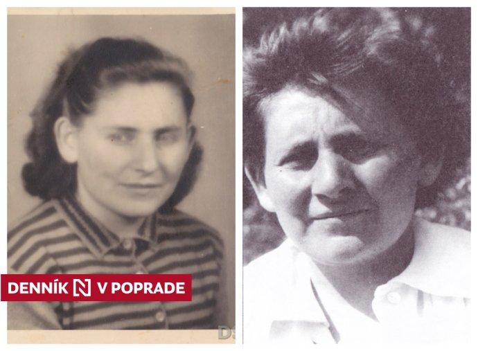 Hilda Hrabovecká, jedna z mála žien, ktoré prežili prvý transport do koncentračného a vyhladzovacieho tábora Auschwitz. Foto - Dokumentačné stredisko holokaustu