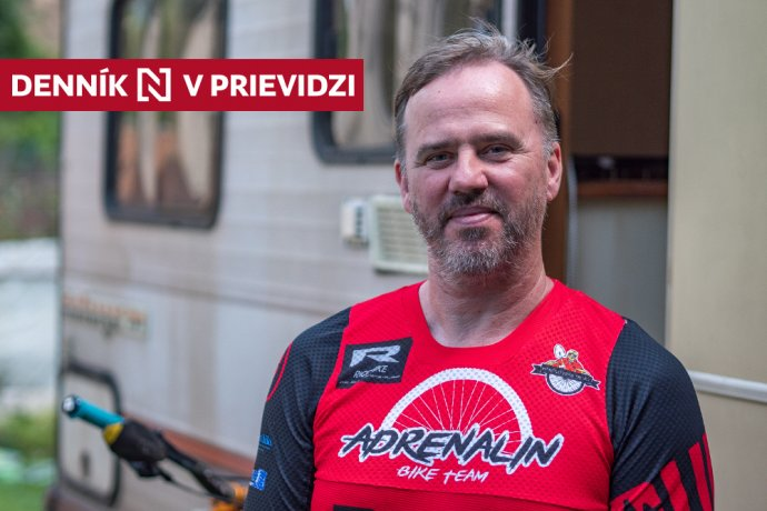 Ľuboš Vičík. Foto – Ľubomír Mäkký