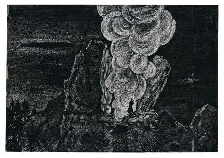 Orest Dubay – ilustrácia pre knihu Stojí, stojí Mohyla (Tatran, 1978)