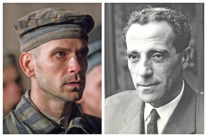 Noël Czuczor, ktorý hrá Alfréda Wetzlera vo filme Správa a Wetzlerova skutočná podoba . Foto - Falcon, archív Knižnice Ružinov