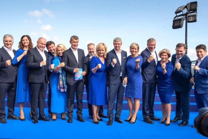 Štart kampane ANO. Foto - facebook Andreja Babiša