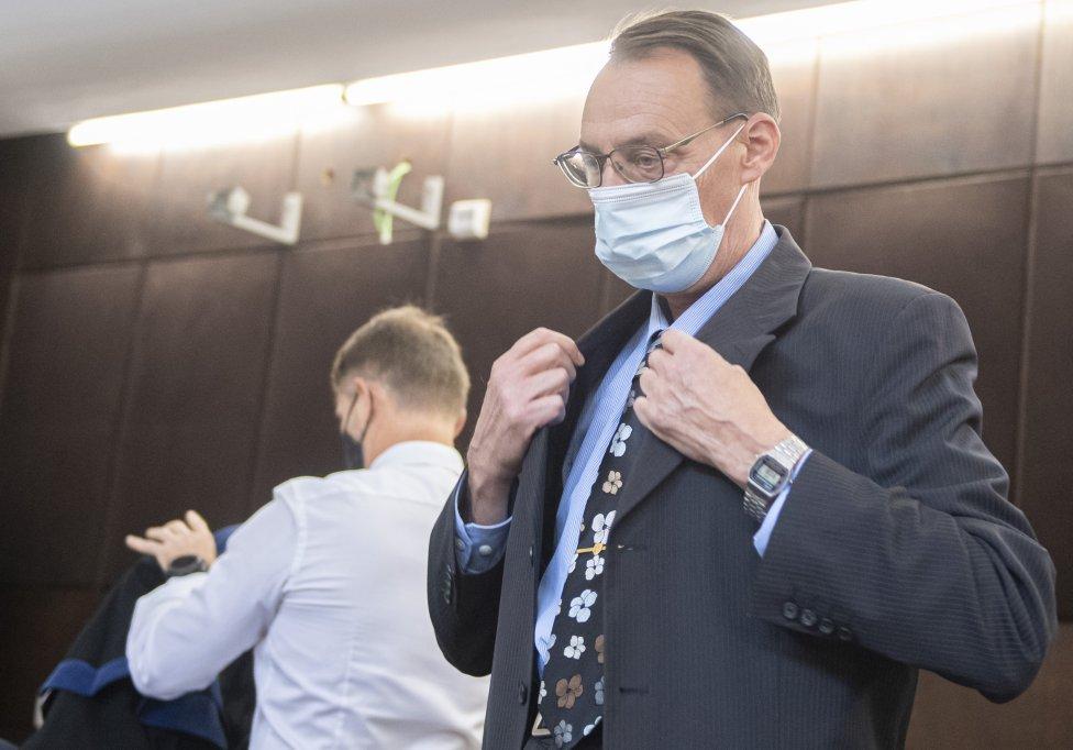 Dobroslav Trnka na súde. Foto - tasr