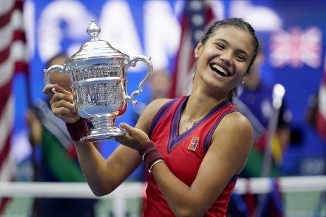 Emma Raducanuová, víťazka US Open. Foto – TASR/AP