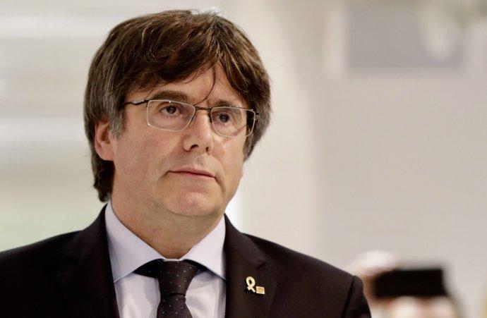 Bývalý premiér Katalánska Carles Puigdemont. Foto – TASR/AP