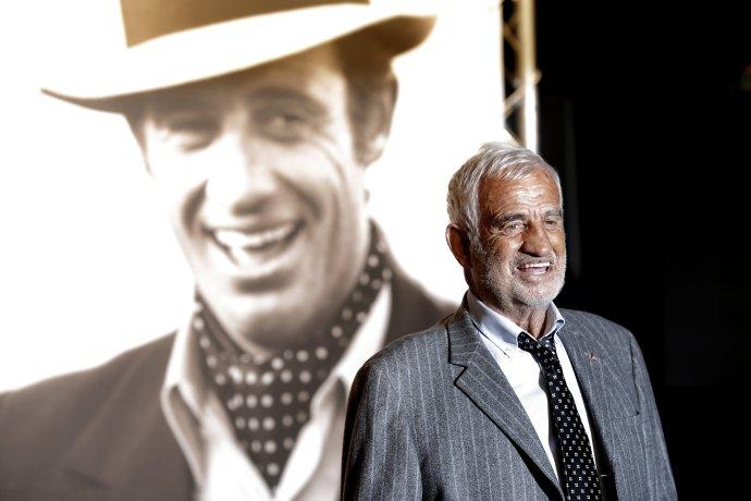 Jean-Paul Belmondo (9. 4. 1933 - 6. 9. 2021). Foto - TASR/AP