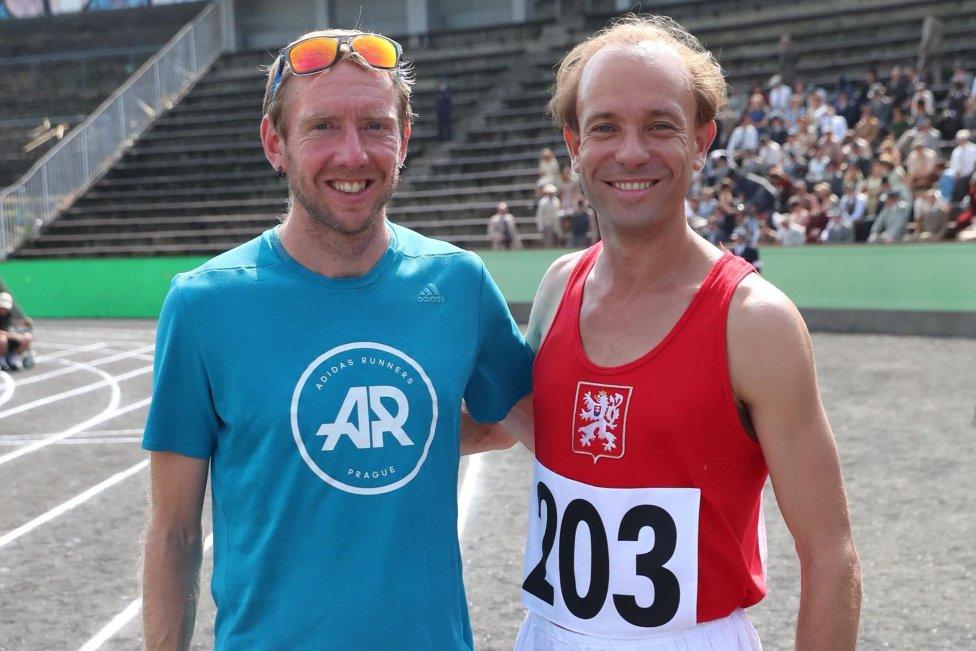 Jan Pernica (vľavo) a Václav Neužil. Foto -archív Jana Pernicu