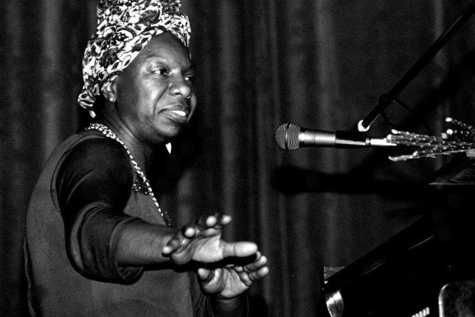 Nina Simone. Foto - Roland Godefroy