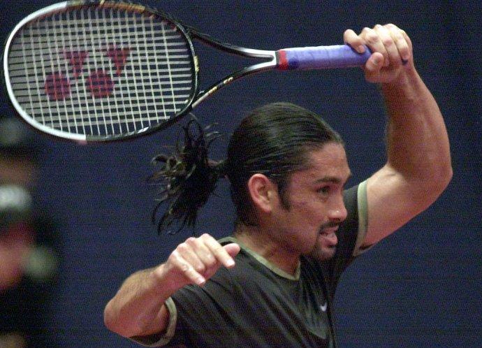 Marcelo Ríos je jedna z mála svetových jednotiek, ktoré nikdy nevyhrali grandslamový turnaj. TASR - Milan Kapusta
