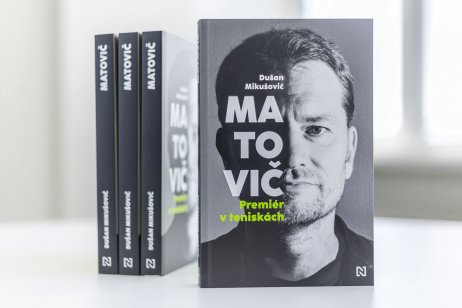 kniha Matovič, Premiér v teniskách