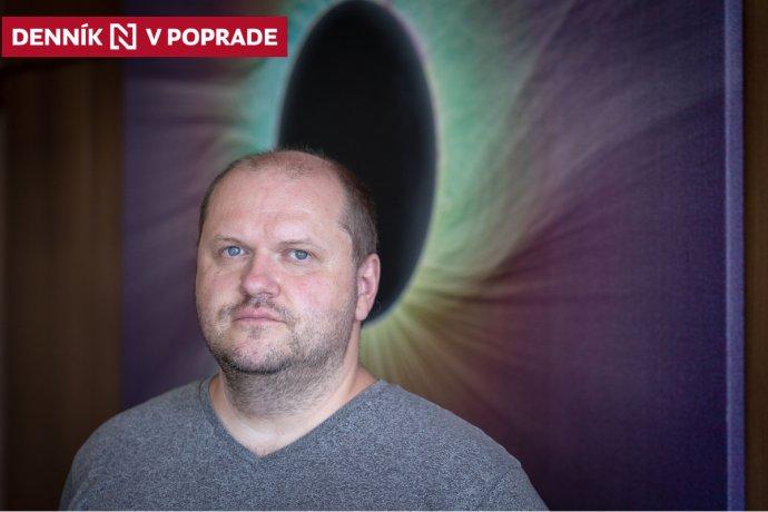 Astrofyzik a riaditeľ Astronomického ústavu Slovenskej akadémie vied Peter Gömöry. Foto N - Tomáš Benedikovič