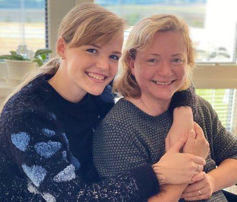 Ružena Rusnáková s dcérou Kristínou. Foto – archív K. R.