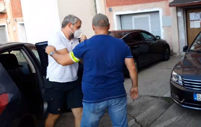 Vyšetrovateľ Štefan Mašin prišiel pri rozhodovaní o väzbe na rad ako posledný. Foto N – Veronika Prušová