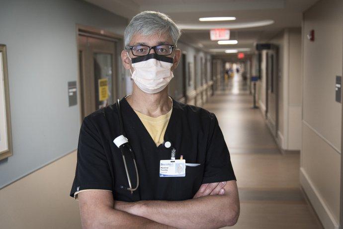 Michiganský lekár Matthew Trunsky. Foto – Washington Post/Liz Debeliso
