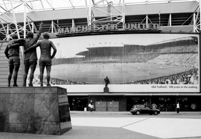 Old Trafford - ako ho stavali. Foto - wikimedia.org
