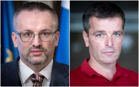 Vladimír Pčolinský a Boris Beňa. Foto N – Tomáš Benedikovič
