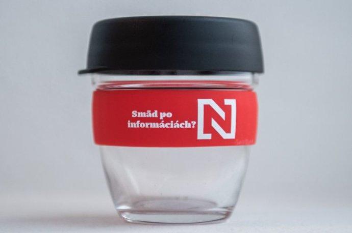 Sklenený pohár N na cesty (227 ml)
