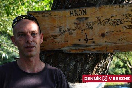 Michal Šaradín zvaný Ryba. Foto N – Daniel Vražda