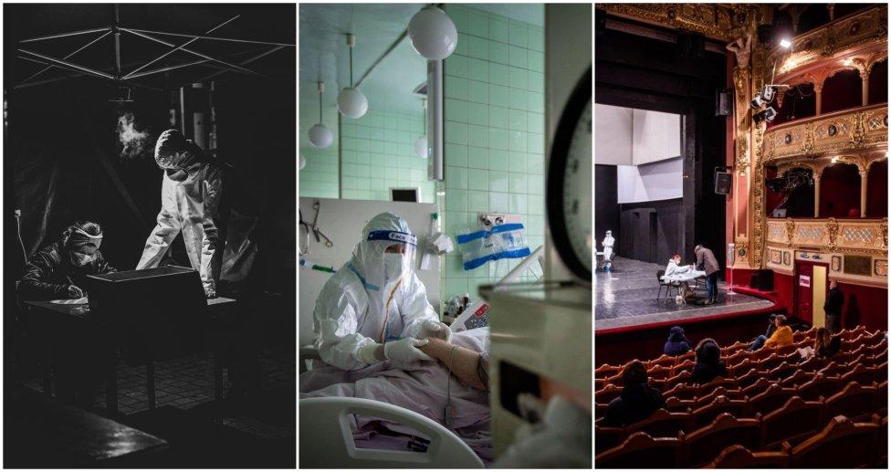 Víťazné fotografie Slovak Press Photo. Foto – Daniel Stehlík, Tomáš Benedikovič, Tomáš Hrivnák