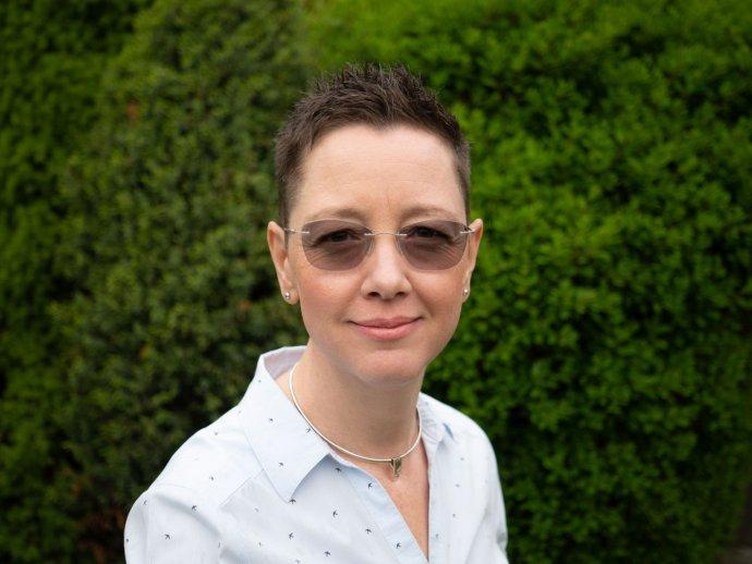 Alena Maarová Ostrovská. Foto - archív A. M. O.
