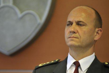 Jaroslav Spišiak na snímke z roku 2011, keď bol prezidentom Policajného zboru. Foto – TASR