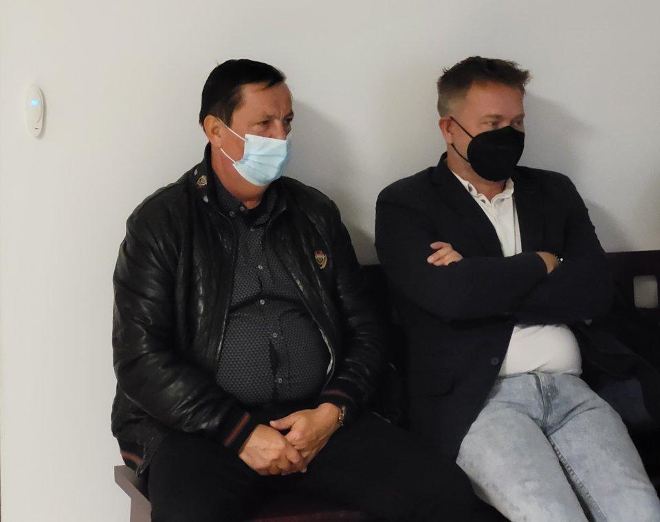 Zľava Peter Škorvaga a Dušan Bočkay. Foto - N