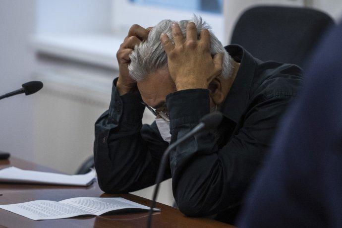 Štefan Agh počas súdneho pojednávania. Foto - TASR