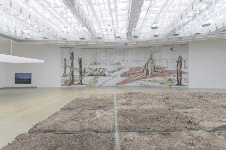 Z výstavy Možné agrarizmy, ktorá prebieha v bratislavskej Kunsthalle. Foto – Adam Šakový