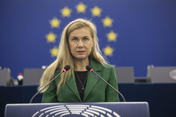 Eurokomisárka pre energetiku Kadri Simsonová. Foto - TASR/AP