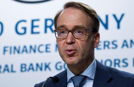 Odchádzajúci šéf nemeckej centrálnej banky Jens Weidmann. Foto – TASR/AP