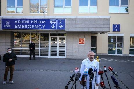 Riaditeľ ÚVN Miroslav Zavoral. Foto – Gabriel Kuchta, Deník N