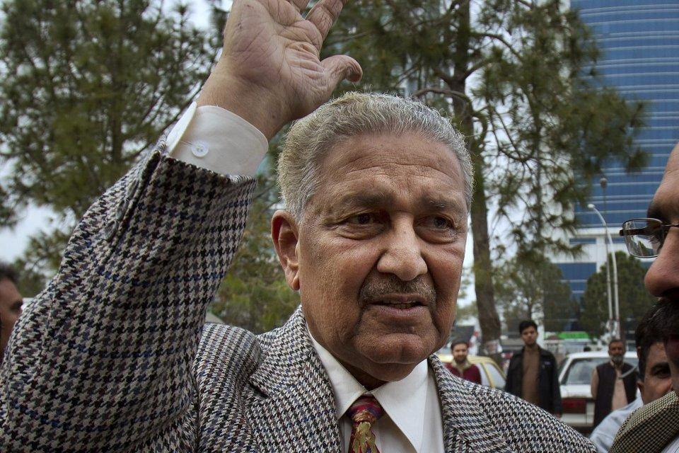 Abdul Kádir Chán na archívnej snímke. Foto - TASR/AP