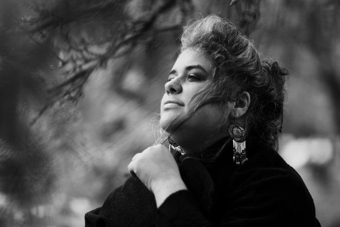 Ridina Ahmedová. Foto - Petra Mandová
