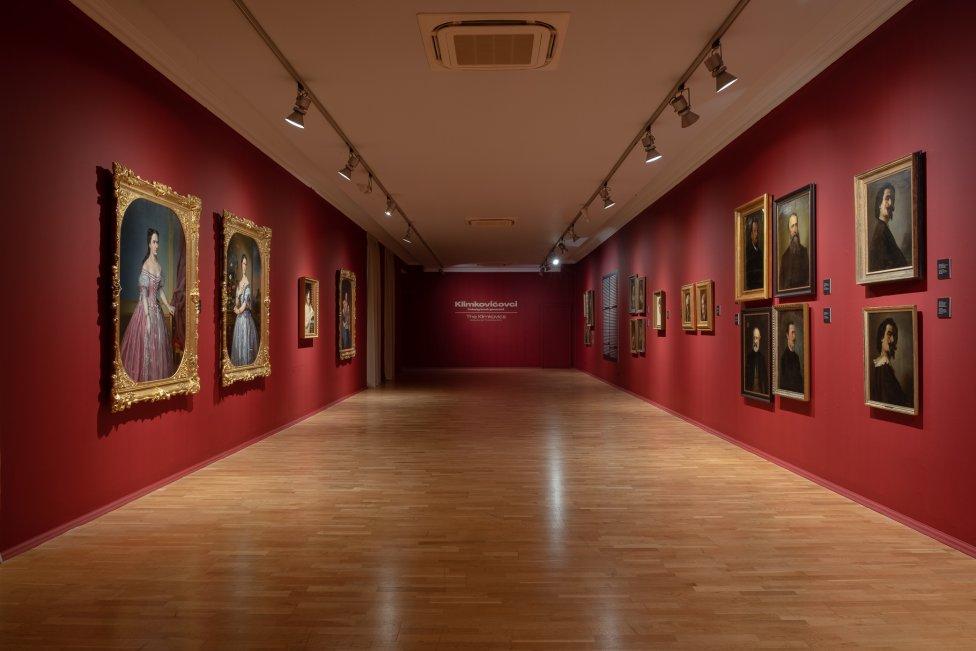 Výstava Klimkovičovci vo Východoslovenskej galérii v Košiciach. Foto - Ondrej Rychnavský