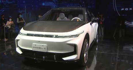 Prototyp elektromobilu od Foxconnu. Foto – TASR/AP