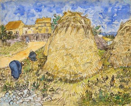 Vincent van Gogh: Snopy obilia