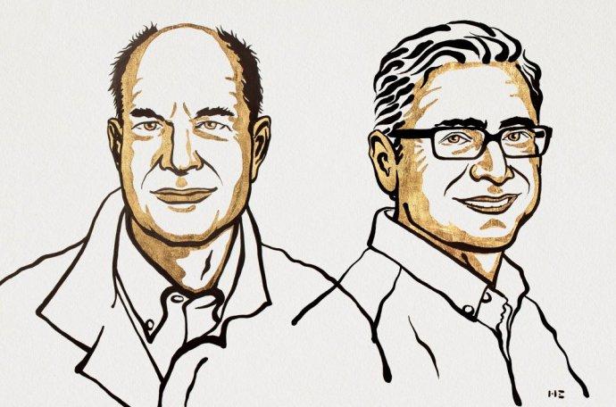 Ocenení vedci David Julius a Ardem Patapoutian. Zdroj - nobelprize.org
